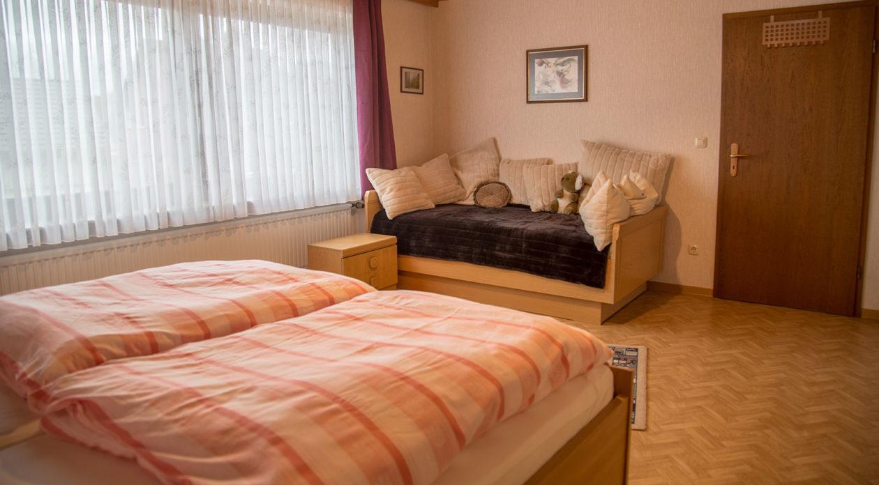 Schlafzimmer Saarblick
